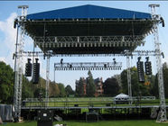 Line Array Sound System And Light truss System Lighting Truss System Silver