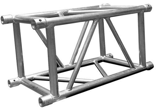 Aluminum Box Truss / Silver Ladder Truss With Aluminum 6082-T6