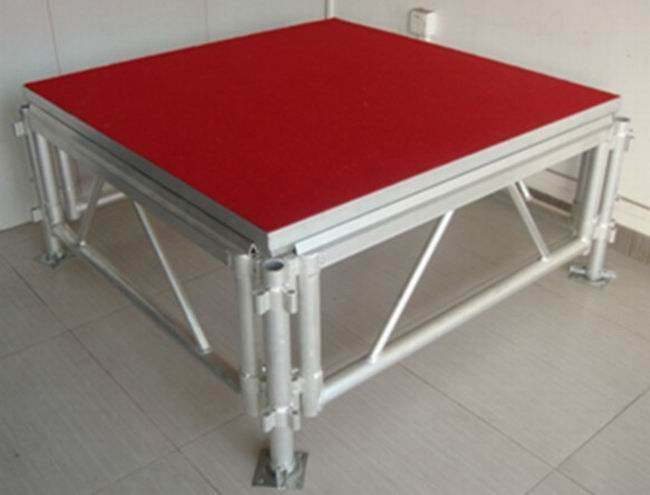 Movable Stage Platform Corrosion Resistance Simple Stage